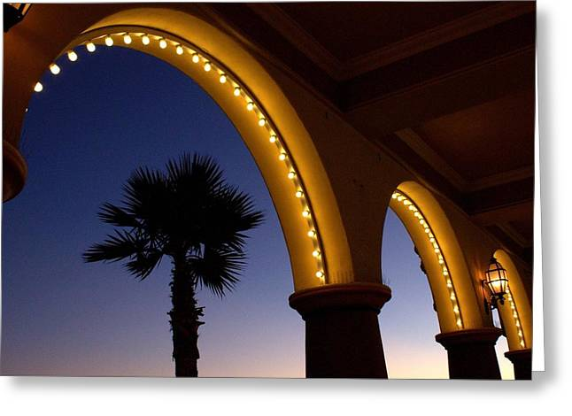 Arches Greeting Card by Lora Lee Chapman