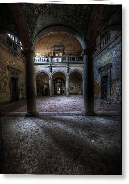 Arches Of Beauty  Greeting Card by Nathan Wright