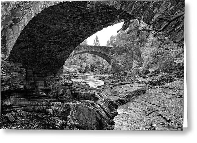 Arches Of Invermoriston Greeting Card