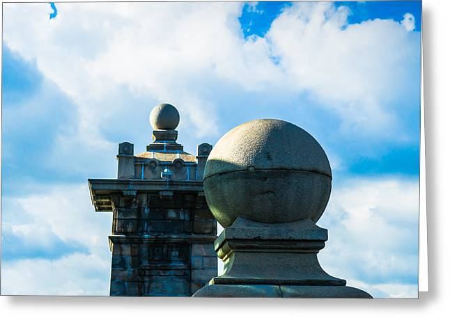 Architectonics - Featured 3 Greeting Card