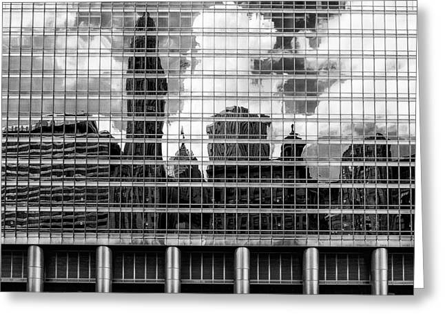 Architectural Abstract 3 Greeting Card by Robert  FERD Frank