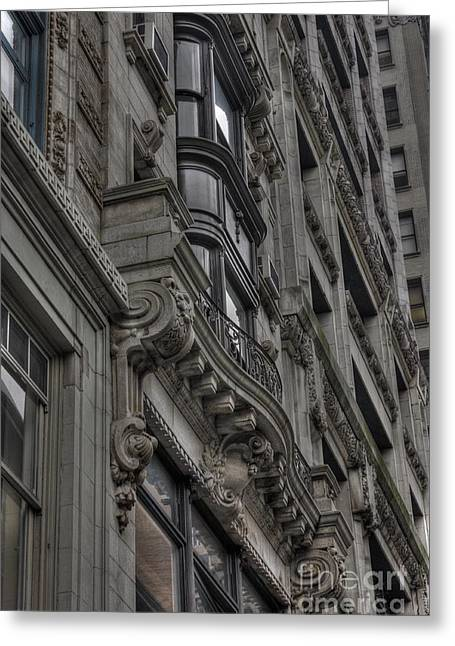 Architectural Detail Greeting Card by David Bearden