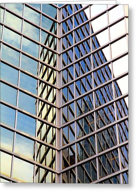 Architectural Details Greeting Card by Valentino Visentini