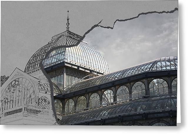 Greeting Card featuring the photograph Architecture 3 by Angel Jesus De la Fuente