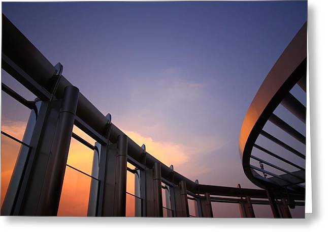 Architecture In The Sky 2 Greeting Card