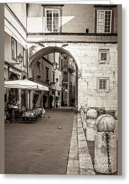 Archway Over Street Greeting Card