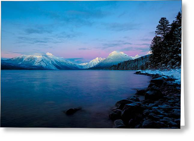 Greeting Card featuring the photograph Arctic Slumber by Aaron Aldrich