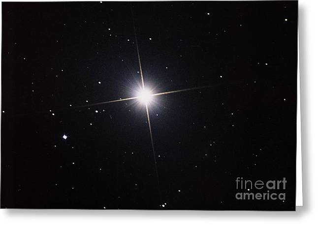 Arcturus Greeting Card by John Chumack