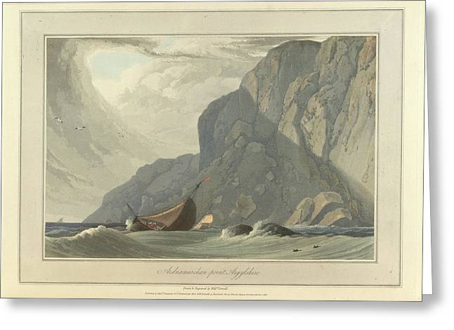 Ardnamurchan Point In Argyllshire Greeting Card by British Library