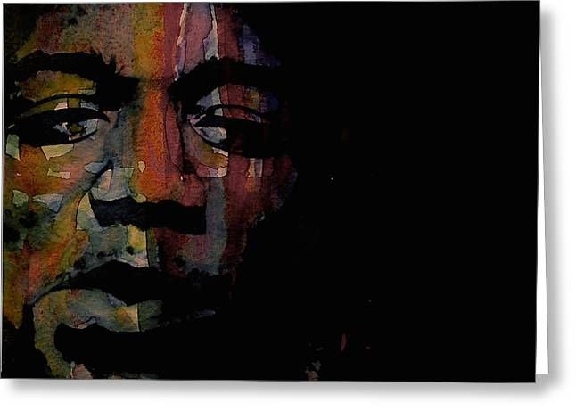 Are You Experienced Greeting Card by Paul Lovering
