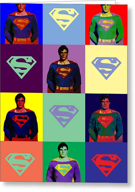 Are You Super? Greeting Card by Saad Hasnain