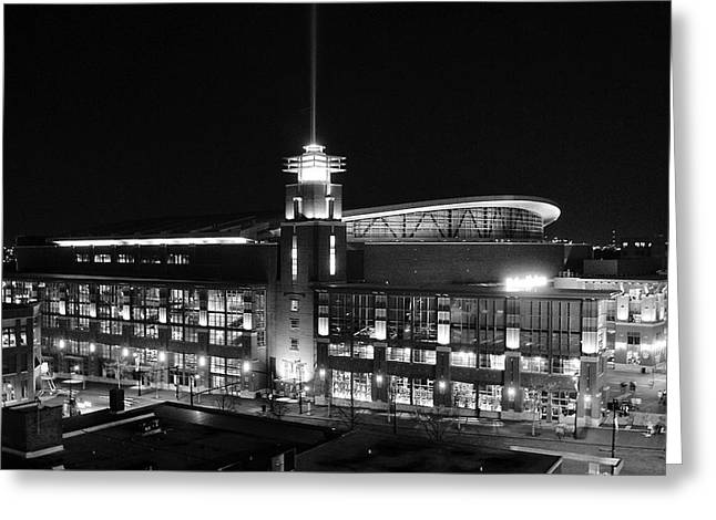 Arena At Night Greeting Card