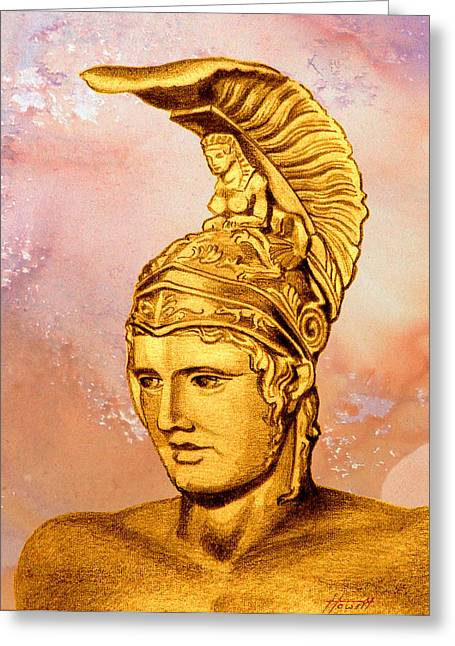 Ares 2 Greeting Card by Patricia Howitt