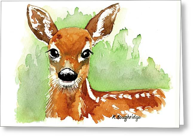 Aristocratic Red Deer Greeting Card