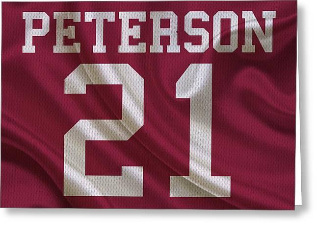 Arizona Cardinals Patrick Peterson Greeting Card by Joe Hamilton