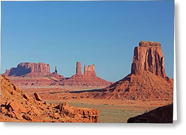 Arizona, Monument Valley, Saddleback Greeting Card