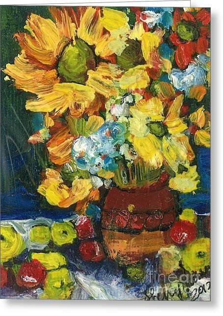 Arizona Sunflowers Greeting Card