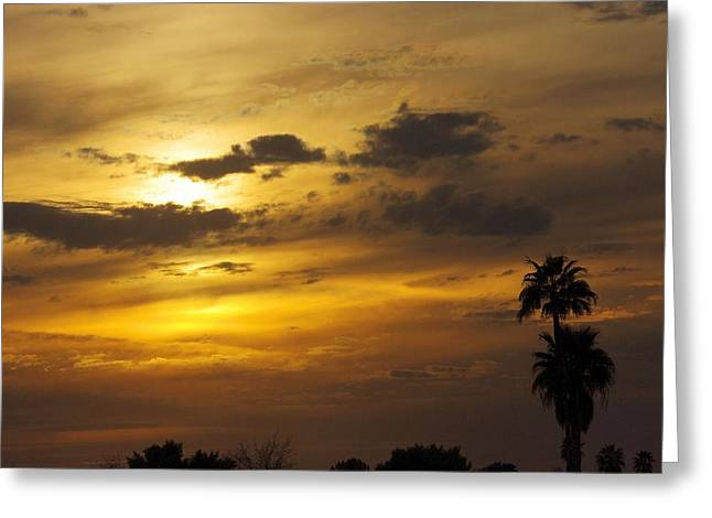 Arizona Sunset Greeting Card