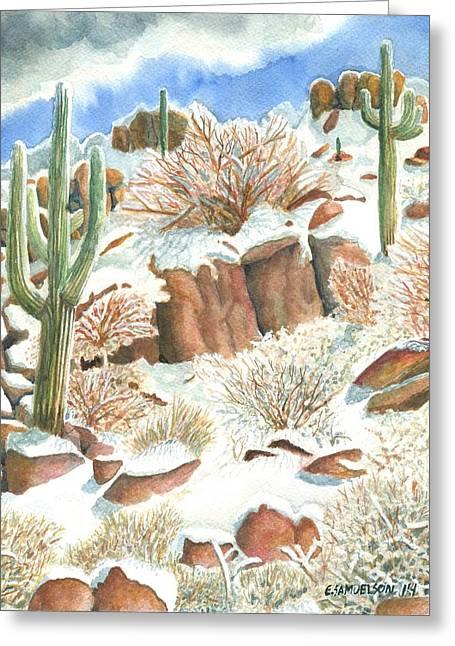 Arizona The Christmas Card Greeting Card