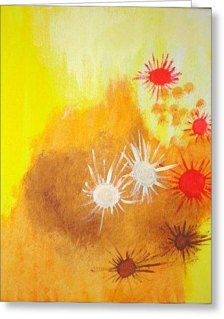 Arizona Greeting Card by Valerie Howell