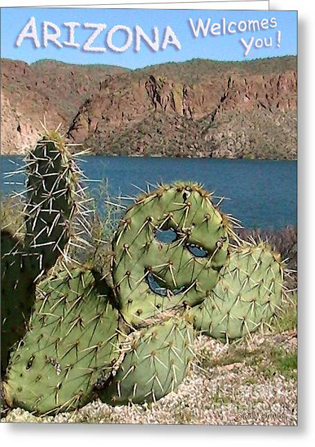 Arizona Welcomes You Greeting Card