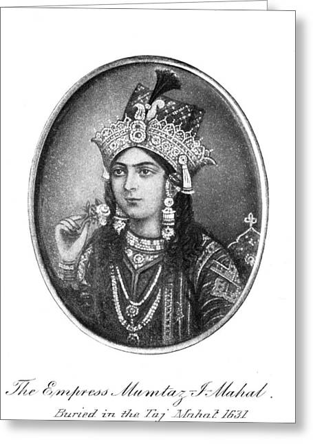 Arjuman Banu (1592-1631) Greeting Card by Granger