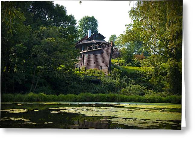Ark House - Berks County Pa. Greeting Card by Bill Cannon