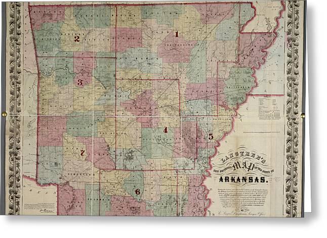 Arkansas Greeting Card by British Library
