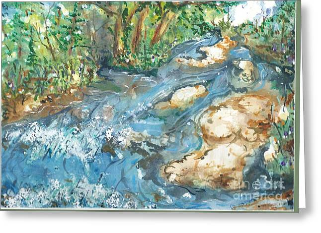 Arkansas Stream Greeting Card