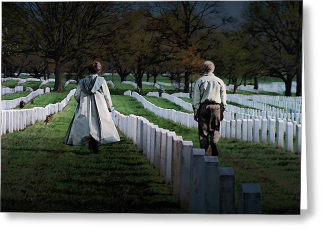 Arlington Greeting Card by David Blank