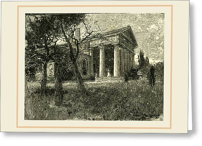 Arlington, Lees House, Usa Greeting Card by Liszt collection