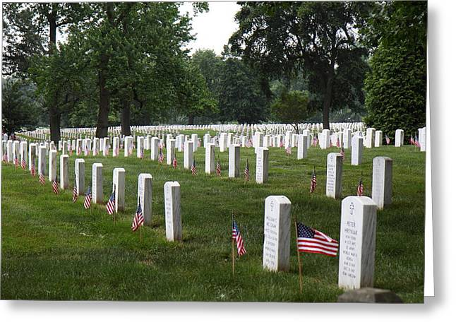 Arlington National Cemetery - 01132 Greeting Card by DC Photographer