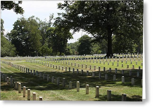 Arlington National Cemetery - 121221 Greeting Card by DC Photographer
