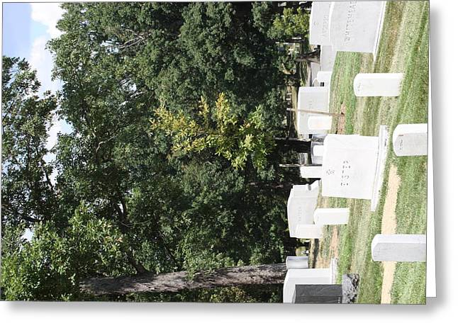Arlington National Cemetery - 121236 Greeting Card by DC Photographer