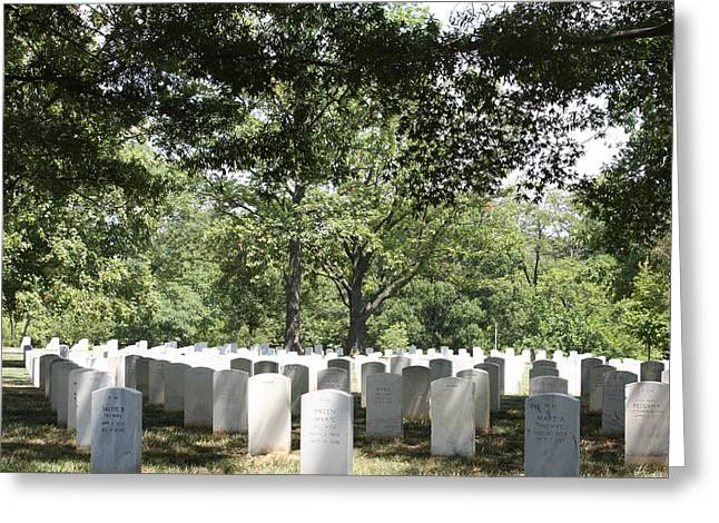 Arlington National Cemetery - 121245 Greeting Card