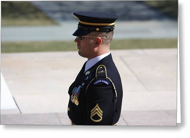Arlington National Cemetery - Tomb Of The Unknown Soldier - 121224 Greeting Card by DC Photographer