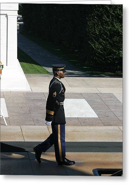 Arlington National Cemetery - Tomb Of The Unknown Soldier - 12129 Greeting Card