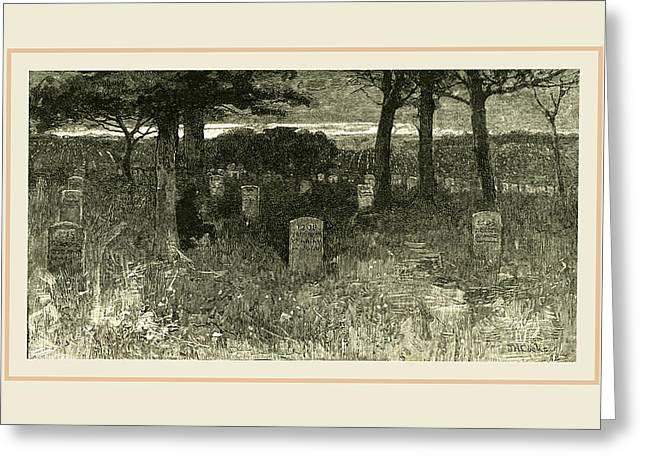 Arlington, Soldiers Graves, Usa Greeting Card by Liszt collection