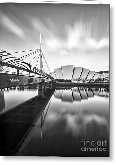Armadillo And Bells Bridge Greeting Card by John Farnan