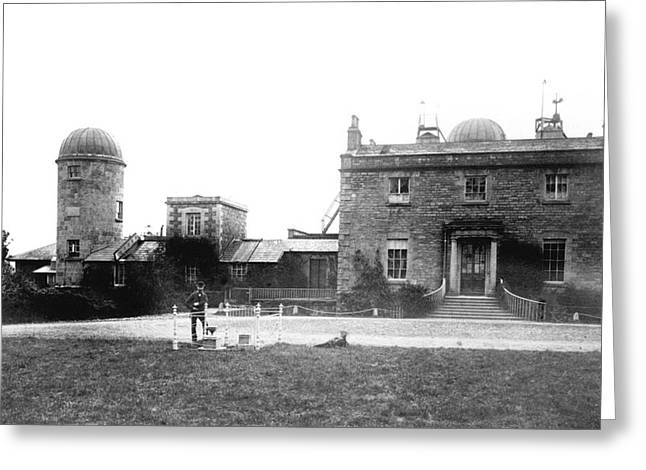 Armagh Observatory Greeting Card by Royal Astronomical Society