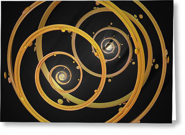 Armillary By Jammer Greeting Card by First Star Art