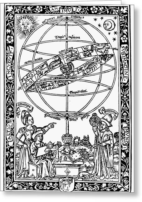 Armillary Sphere, 1531 Greeting Card by Granger