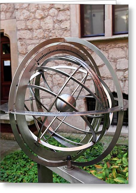 Armillary Sphere Greeting Card by Photostock-israel