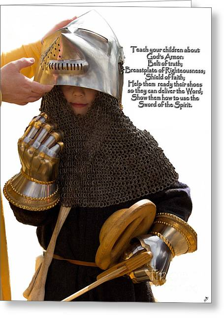 Armor Of God Greeting Card