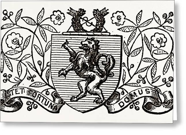Arms Of Harrow School, Uk Greeting Card