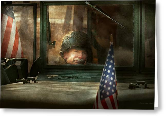Army - Semper Fi Greeting Card by Mike Savad