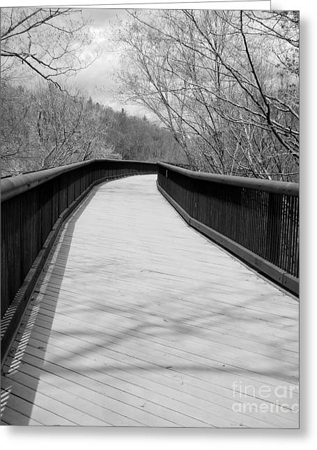 Greeting Card featuring the photograph Around The Bend by Kristen Fox