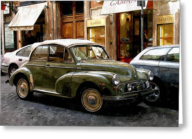 Arrivederci Roma Greeting Card by Duende Artworks