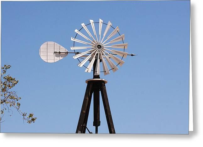 Arrow Windmill Greeting Card