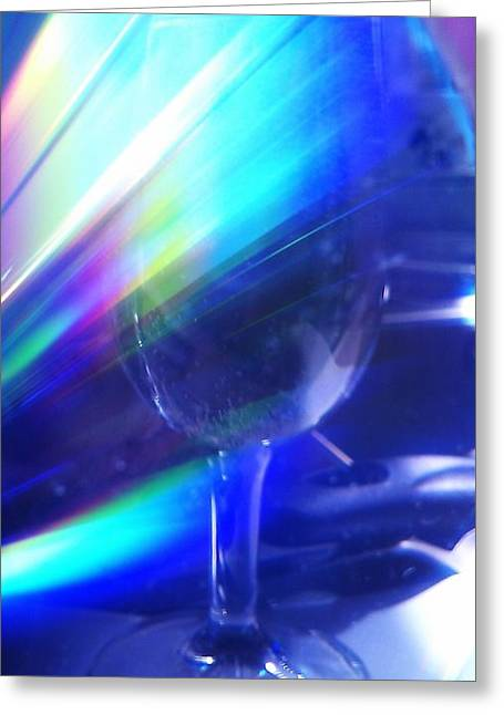 Art Glass Greeting Card by Martin Howard